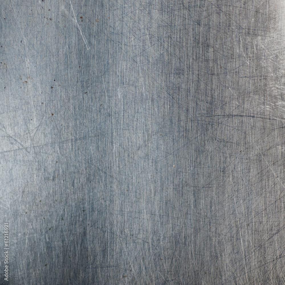 Fototapety, obrazy: Scratched metal background