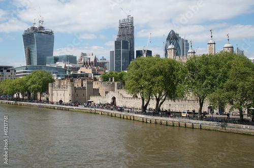 Fotografie, Obraz  River Thames