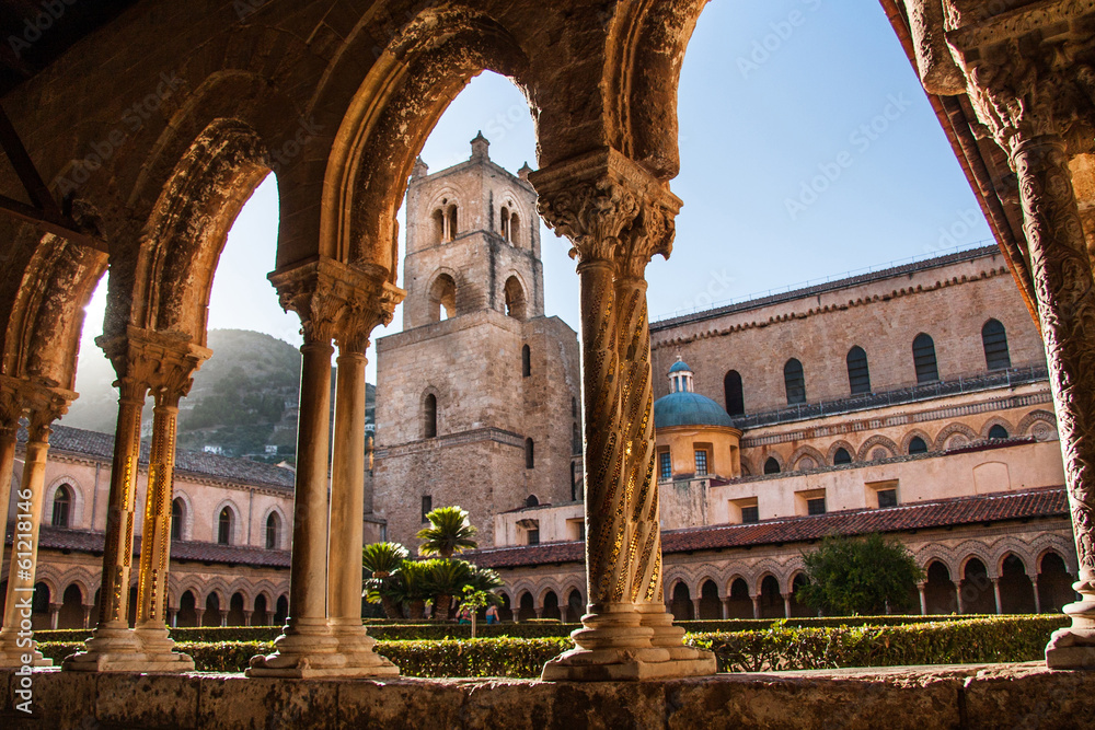 Fototapety, obrazy: Cathedral of Monreale, Sicily, Italy