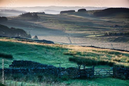 Canvas-taulu Hadrian's wall, Northumberland, England