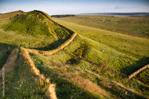 Fotografia Hadrian's wall, Northumberland, England