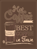 Retro Vintage Coffee Poster