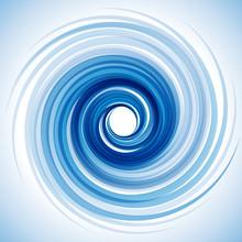 Vector Blue Vortex Background