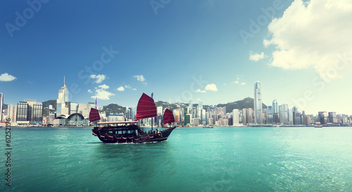 Photo  Hong Kong harbour