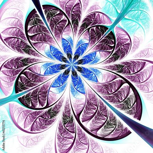 fraktal-niebieski-i-rozowy-kwiat