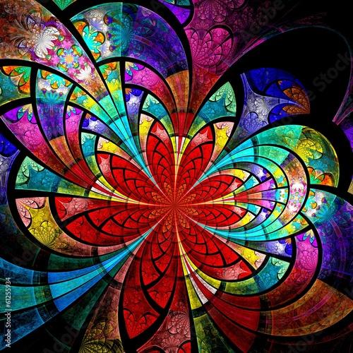 fraktal-kolorowy-kwiat-grafika-cyfrowa