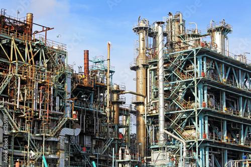 Staande foto Industrial geb. Industrial complex