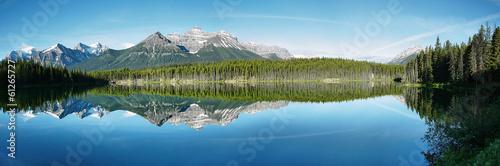 Spoed Foto op Canvas Canada Herbert lake