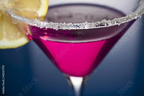 Fotografía  Martini with lemon