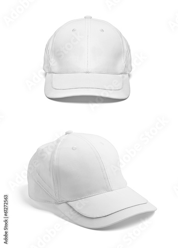 white cap template baseball blank – kaufen Sie dieses Foto und ...