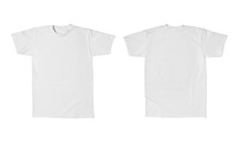 White T Shirt Template Cotton ...