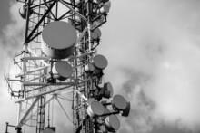Large Communication Tower Agai...