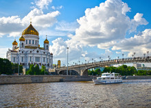 Cathedral Of Christ The Saviour. Russia,Moscow