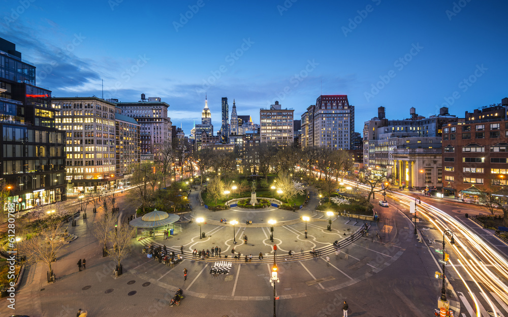 Fototapety, obrazy: Union Square in New York City