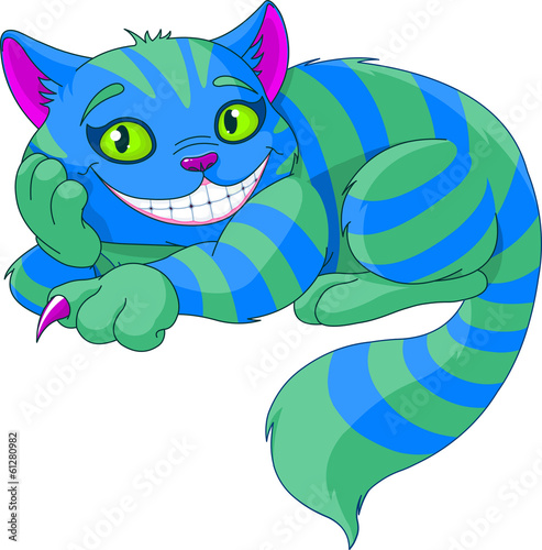Cheshire Cat Fotobehang