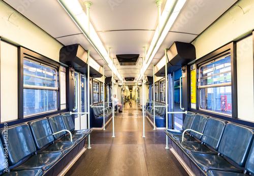 Fotografie, Obraz  Milan, subway wagon