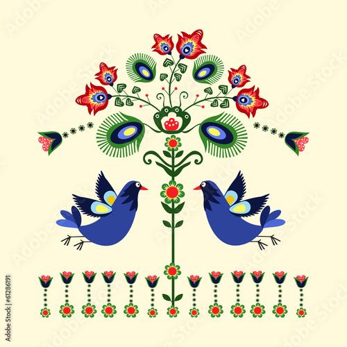 Młodzieżowe   wzor-haftu-z-ptakami