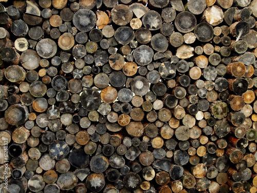 Fototapeta dark chopped fire wood obraz