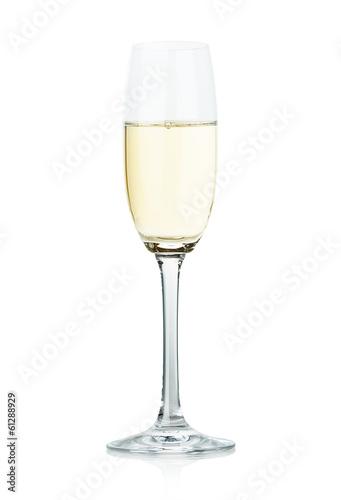Foto op Canvas Alcohol wineglass glass water