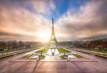Champ De Mars In Paris