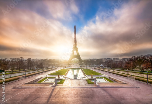 Photo  Champ de Mars in Paris