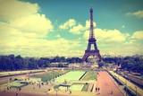 Paris. Cross processed color tone.