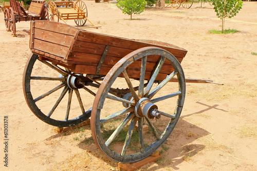 Fotobehang Indiërs cariole western, Arizona