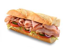 Ham Salad Submarine Sandwich