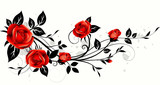 Roses decorative