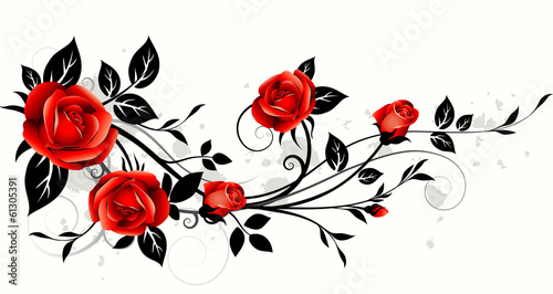 Roses decorative #61305391