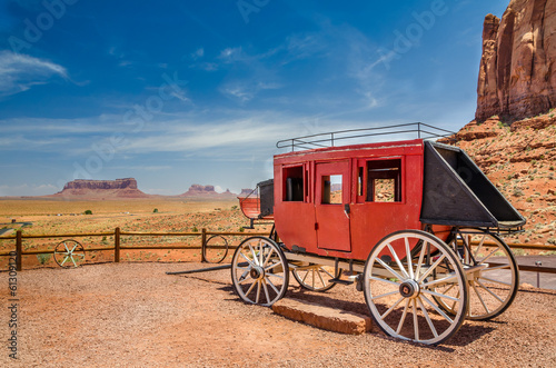 Old Stagecoach Canvas-taulu