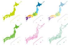 日本地図デザインセッ...