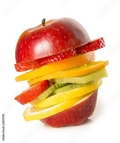 Hamburguesa de fruta