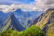 canvas print picture - Point de vue Cap Noir, La Réunion