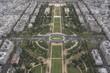 Paryż - widok z wieży Eiffla