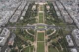 Fototapeta Paryż - Paryż - widok z wieży Eiffla
