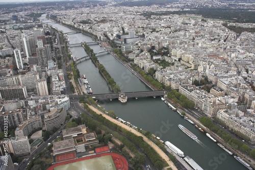 Paryż - widok z Wieży Eiffla 3