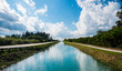 canvas print picture - Canal