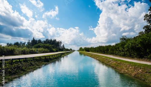 Obraz na plátne Canal