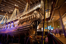 Vasa Museum In Stockholm, Sweden
