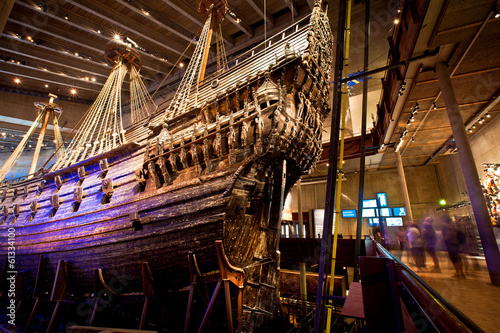 Photo  Vasa museum in Stockholm, Sweden