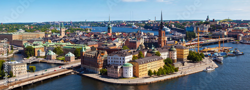 Stockholm city in Sweden Wallpaper Mural