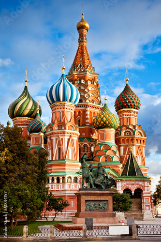 Photo  Saint Basil Cathedral in Moscow