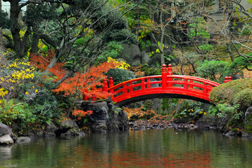 Panel Szklany Ogrody Japanese garden