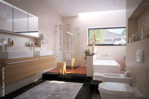 Luxus Badezimmer In Einfamilienhaus   Luxury Bathroom