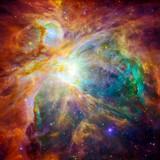Kolorowa mgławica Oriona