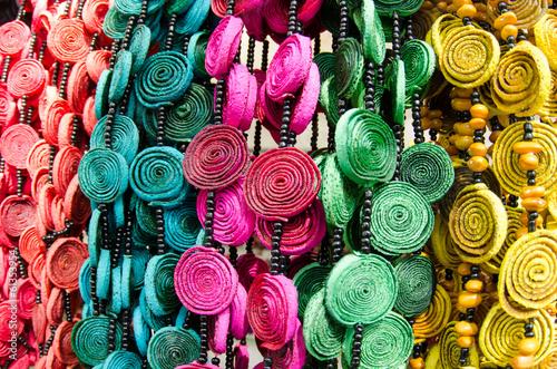 Spoed Foto op Canvas Cactus Mexican handcrafts
