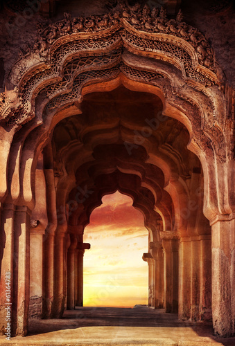 Photo  Old temple in India