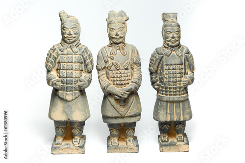 Foto op Plexiglas Xian Three Terra Cotta Warriors by ancient china
