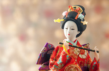Still Life Cute Japanese Geish...